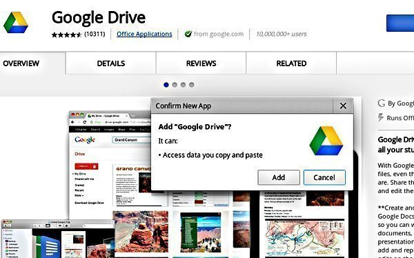 Use Google Drive On Chromebook While using Offline