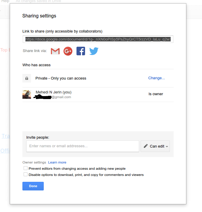 Real-time-collaboration-in-google-docs