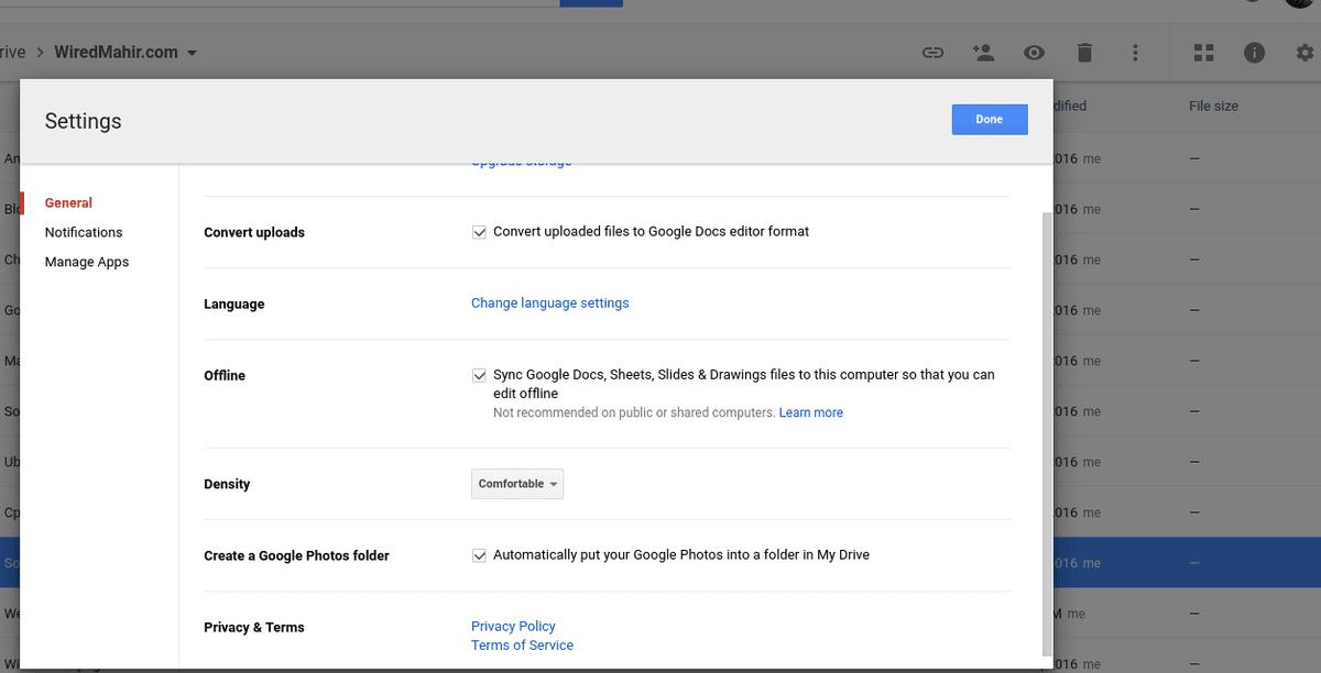 Setting-google-Docs-for-offline-use