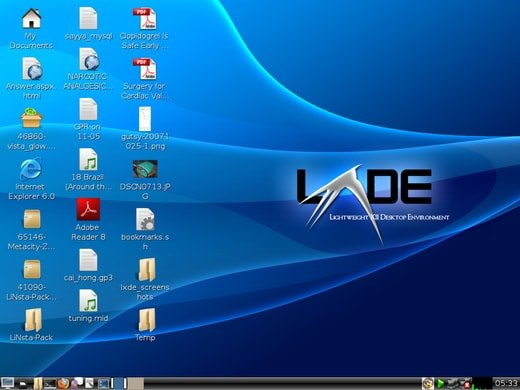LXDE (Lightweight X11 Desktop Environment)