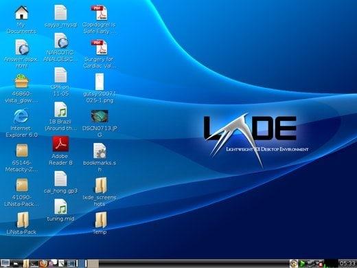 LXDE (Lightweight X11 Desktop Environment)