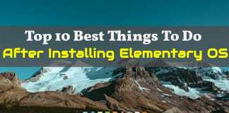 Best Things To Do After Installing Elementary