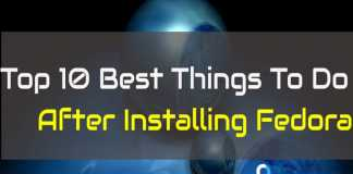Best Things To Do After Installing Fedora
