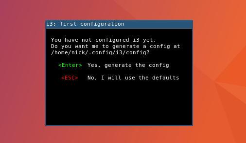i3wm Desktop Environment