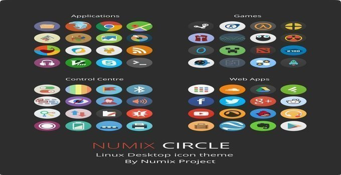 Install Numix icon theme on Ubuntu