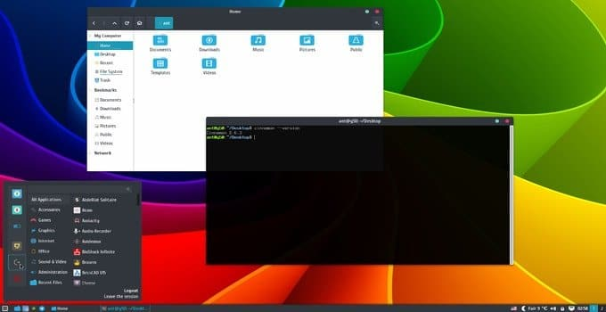 EvoPop Ubuntu Gnome Theme
