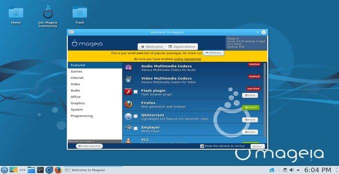 Mageia Linux server