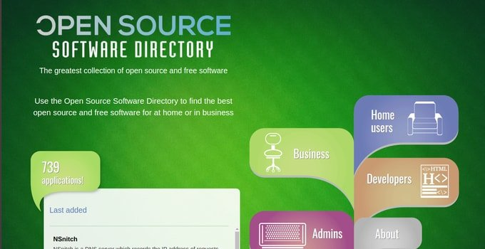 Open Source Software Directory