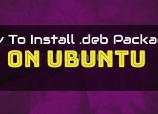 all the Possible Ways to Install deb packages