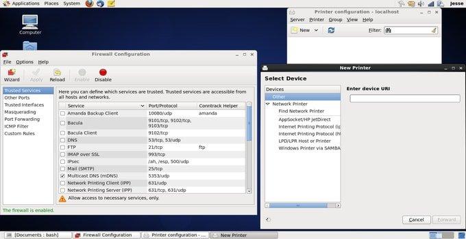 CentOS Linux server