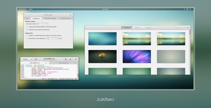 zukitwois_theme_for Ubuntu Gnome