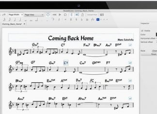 MuseScore - A Free and Open Source Music Notation Software