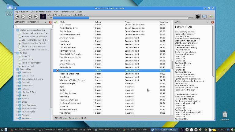 Pragha Music Player - Xfce