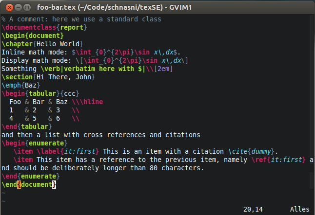 Vim with LaTeX-suite