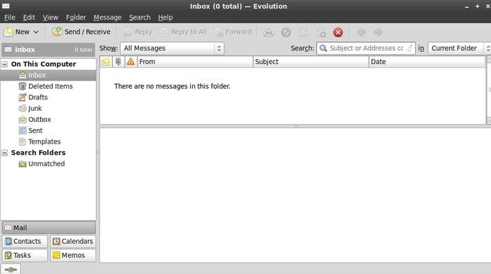 Evolution Linux Email Client