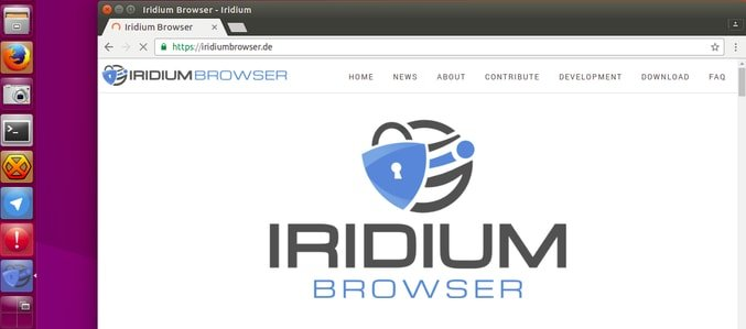 Iridium Browser for Linux