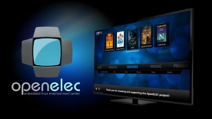 OpenELEC – Open Embedded Linux Entertainment Center