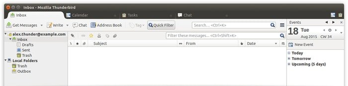Thunderbird - Open Source Email Client