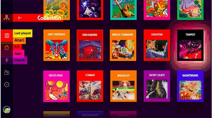 Games in Atari VCS