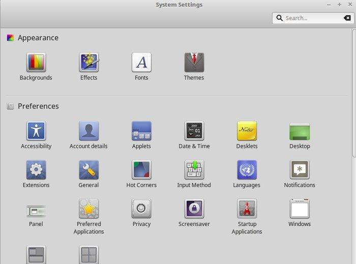 Linux Mint System Customization