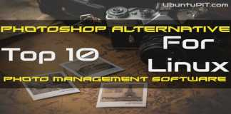 Linux Photoshop Alternative Photo Management Software