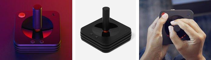Navigating the Atari VCS with Joystick