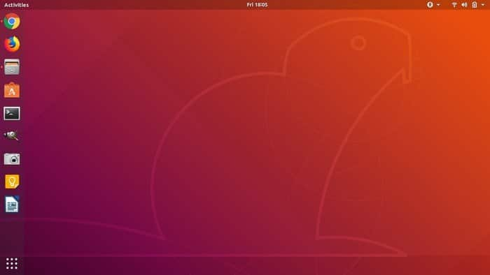 Ubuntu Gnome Desktop Environment - 18.04