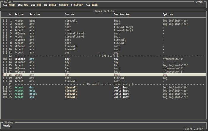 Vuurmuur Linux Firewall