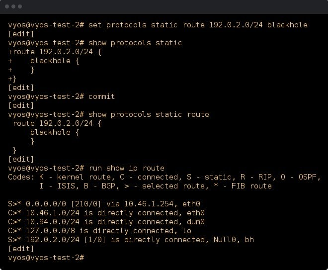VyOS Linux Firewall