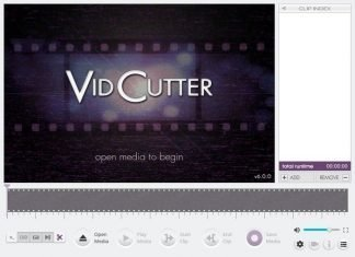 Free Video Editing Software VidCutter