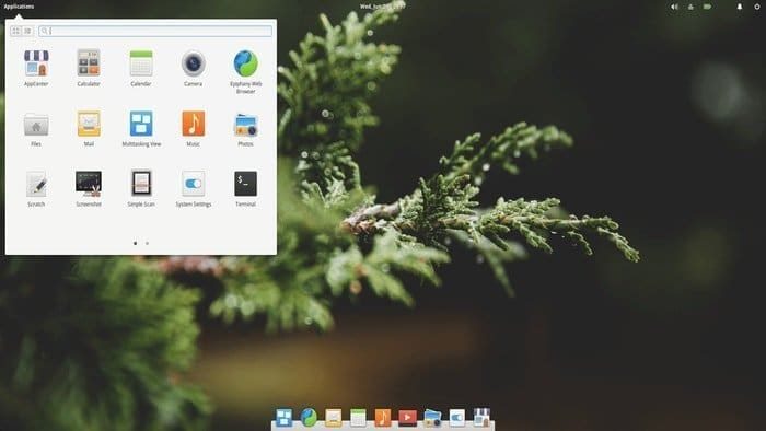 Linux Elementary OS - Desktop Environment: Pantheon