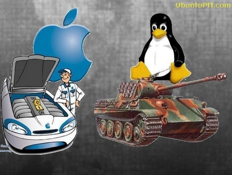OSX vs Linux