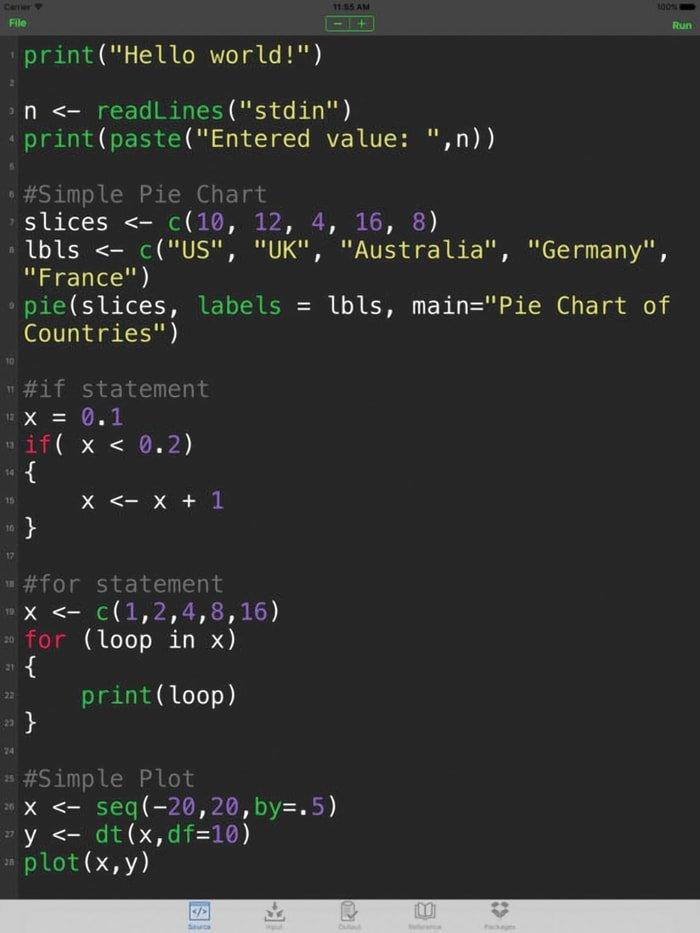 R Programming Language - A Statistical Computing and Graphics