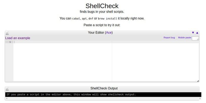 ShellCheck - A Shell Script Static Analysis Tool