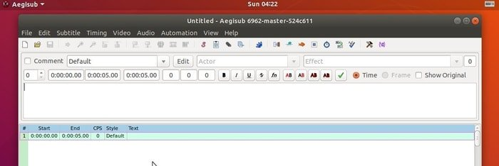 Aegisub Subtitle Editor - A Free Tool for Creating and