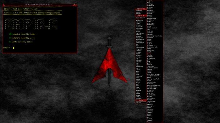 BlackArch Linux-openbox