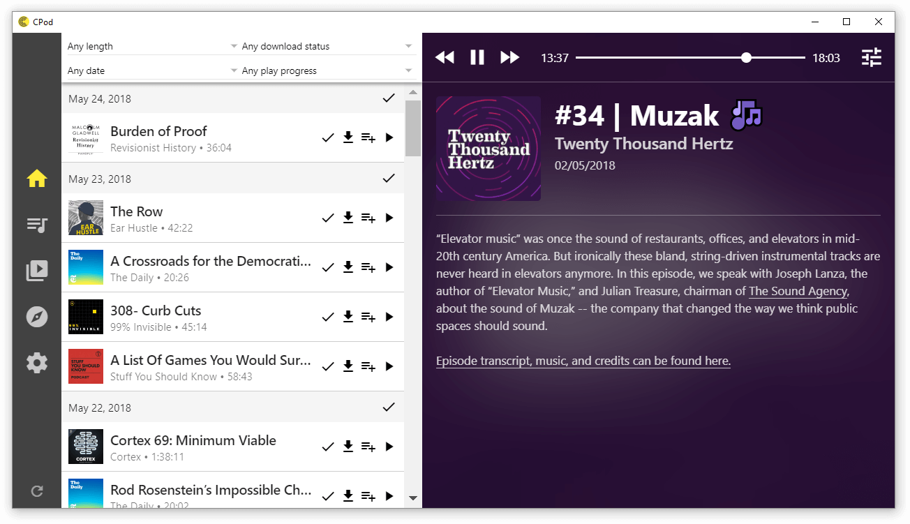 Best Podcast App: Top 20 Reviewed For Linux Podcatcher | UbuntuPIT