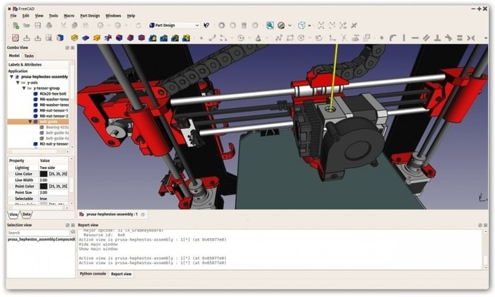 FreeCAD – A Free Parametric 3D CAD Modeler Software for Linux