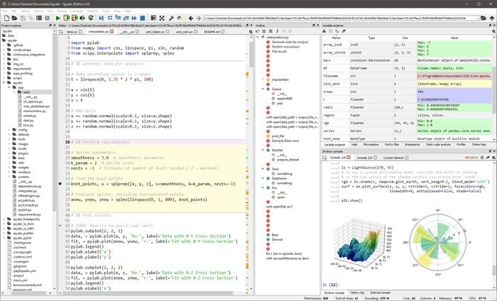 Spyder – The Community Developed Scientific Python IDE for Data Science