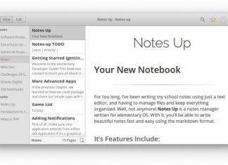 """""""Notes-Up"""" – A Free and Open-source Markdown Note Editor"""