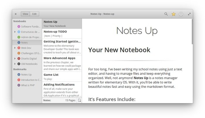 """Notes-Up"" – A Free and Open-source Markdown Note Editor"