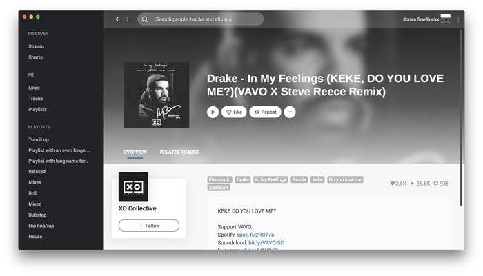 Auryo – A SoundCloud Desktop Client