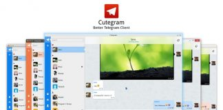 Cutegram – An Open-source Telegram Messenger Desktop Client for Linux