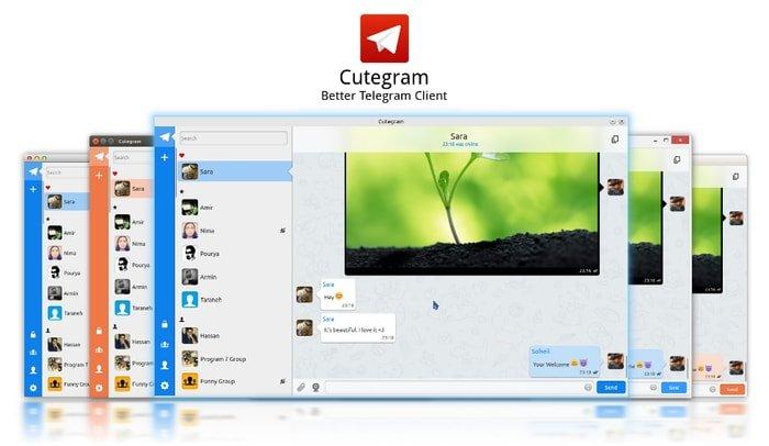 Cutegram – An Open-source Telegram Messenger Desktop Client for Linux