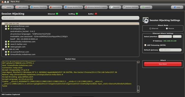 terminal emulator commands hack wifi