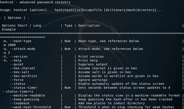Hashcat - Advanced Password Recovery