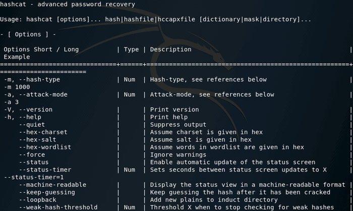Hashcat - Advanced Password Recovery