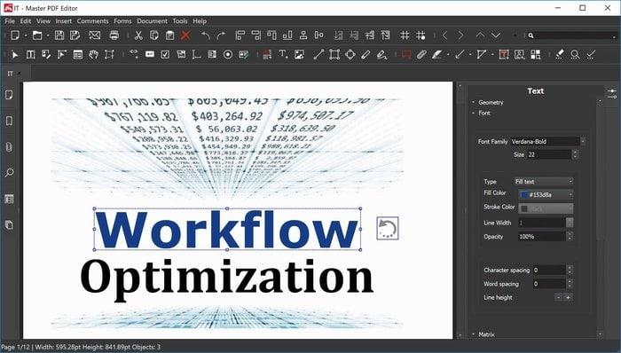 Master PDF Editor – A Cross-Platform Multi-functional PDF Editor