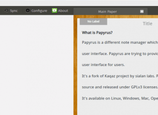 Papyrus – An Open-source and Multi-platform Note Manager