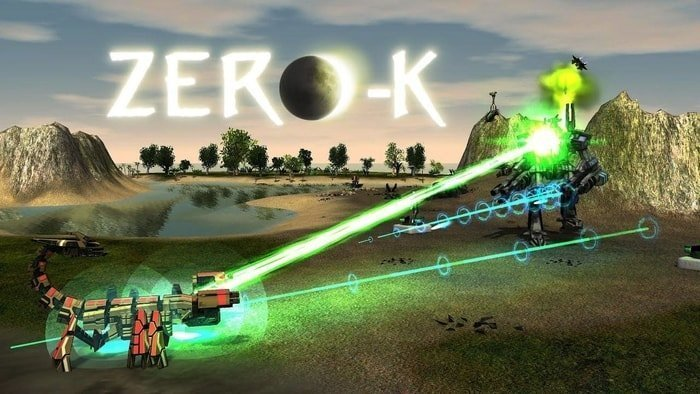 Zero-K An Amazing Free Real Time Strategy Game for Linux